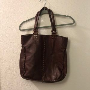 Linea Pelle leather tote bag